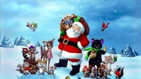 free merry christmas wallpaper